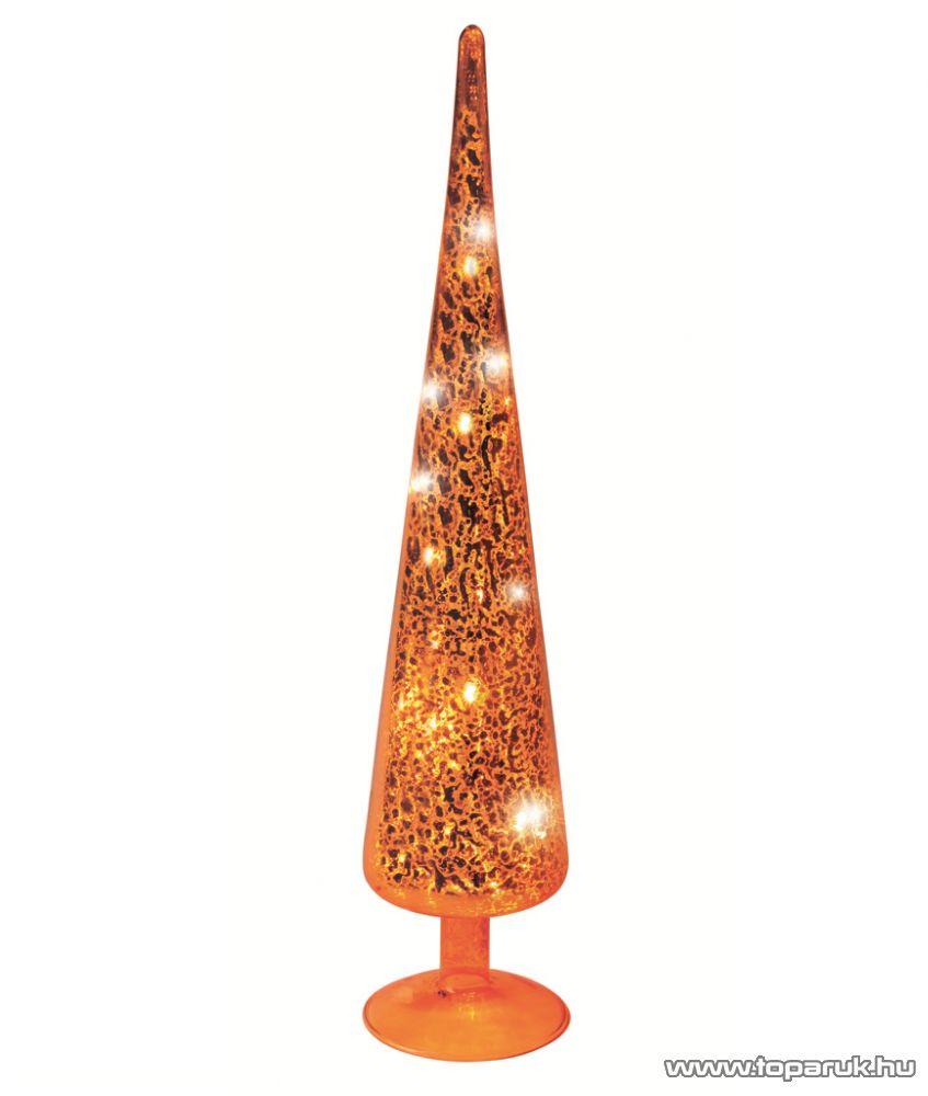 HOME KIG 38/YE LED-es gúla dísz, sárga, 38 cm - megszűnt termék: 2014. november