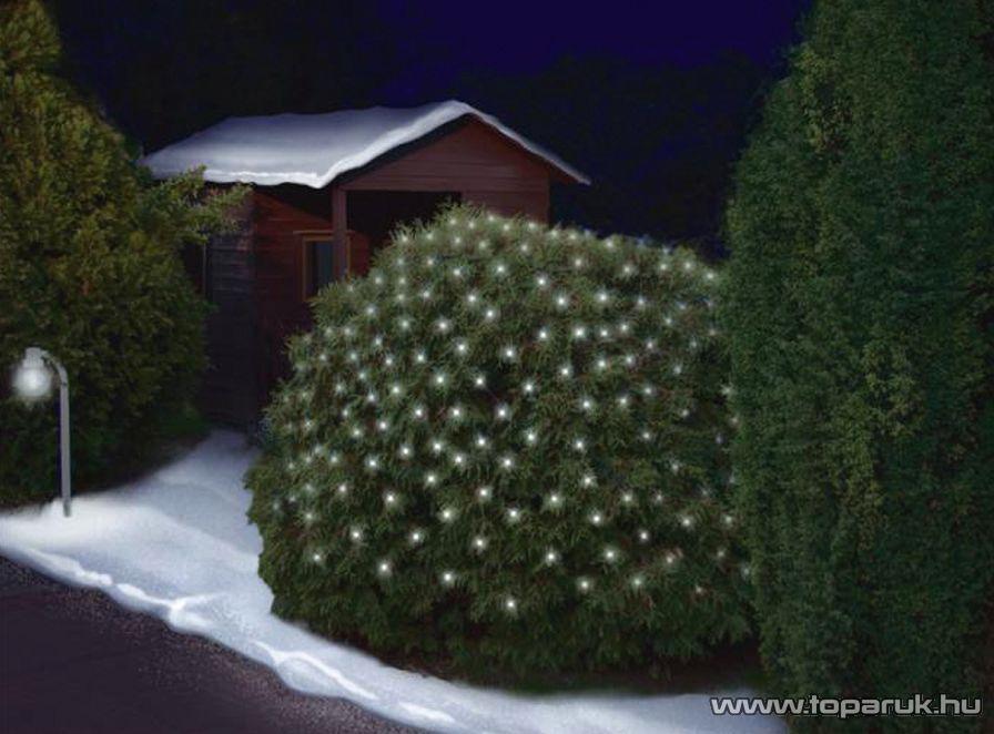 HOME KIN 150/CL Kültéri hagyományos izzós háló, 20 x 230 cm, fehér - készlethiány