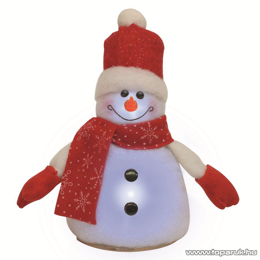 HOME KKD 102 Hóember, színváltó LED-del, 24 cm