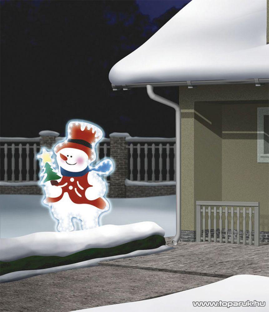 HOME KKD 501 Hóember alakú kültéri dísz - készlethiány
