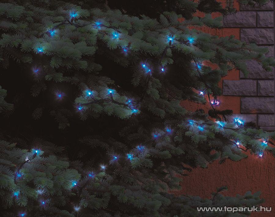 HOME KKL 108/BL Kültéri LED-es fényfüzér, 100 db kék LED-del