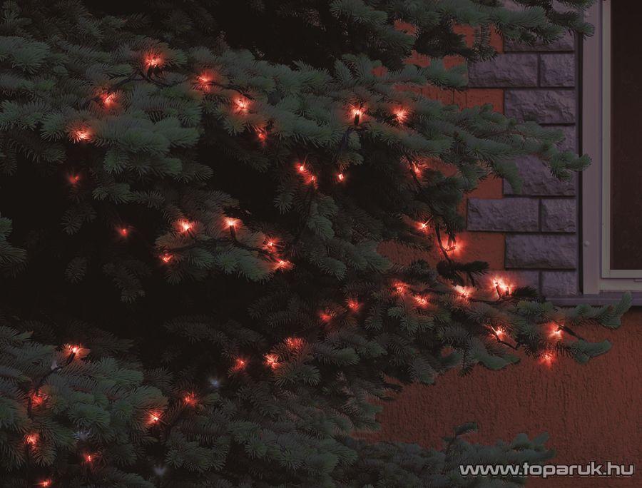 HOME KKL 208/RD Kültéri LED-es fényfüzér, 200 db piros LED-del