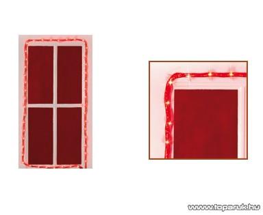 HOME KNT 60/RD Izzósor műanyag hálóban, 3 m, piros - megszűnt termék: 2014. november