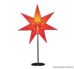 HOME KST 40/RD Állványos papírcsillag dekoráció