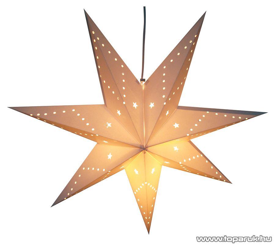 HOME KS 50/WH Papírcsillag dekoráció - megszűnt termék: 2014. november