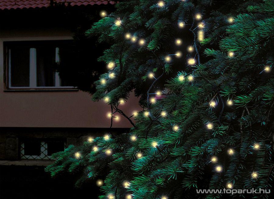 HOME KTI 40/WW Kültéri sorolható fényfüzér, 40 db melegfehér LED-del, 4 m hosszú