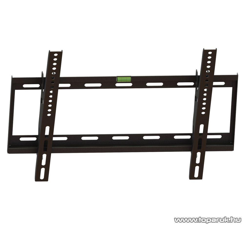 HOME LCDH 451 Billenthető fali tartó LCD, LED és plazma TV-hez (max 127 cm / 50 col átmérőig), fekete - megszűnt termék: 2016. május