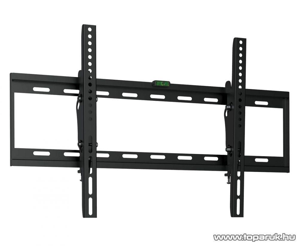 HOME LCDH 751 Billenthető fali tartó LCD, LED és plazma TV-hez (max 165 cm / 65 col átmérőig), fekete