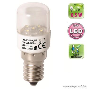 HOME LH 0.5/14M DIP LED fényforrás, 0,5 W / E14 / 2900 K / 28 lm, henger - készlethiány