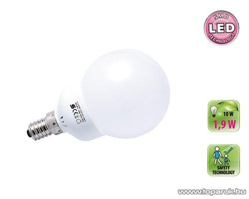 HOME LL 1.9/14M SMD LED fényforrás, gömb, 1,9 W, E14, 2900 K