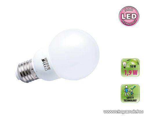 HOME LL 1.9/27M SMD LED fényforrás, gömb, 1,9 W, E27, 2900 K
