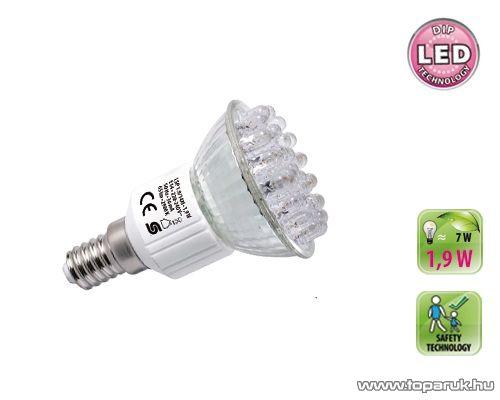 HOME LSP 1.9/14M Dip LED fényforrás, E14 spot, 1,9 W, E14, 2900 K