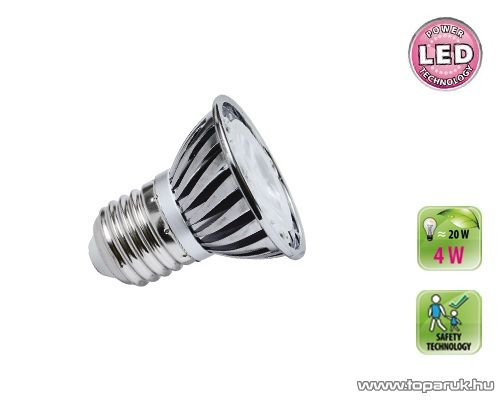 HOME LSP 4/27M Power LED fényforrás, E27 spot, 4 W, E27, 2900 K