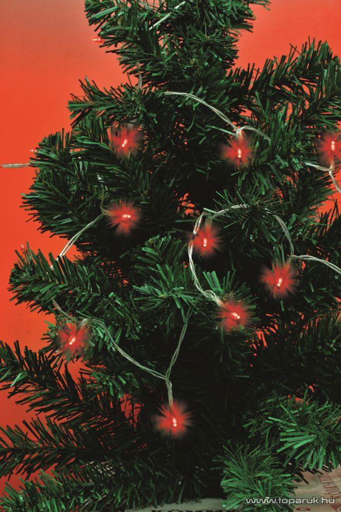 HOME MLC 15/RD LED-es mini fényfüzér, piros