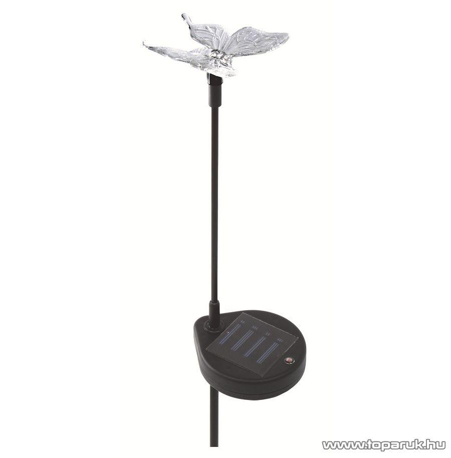 HOME MX 616P Napelemes kerti lámpa, pillangó design - készlethiány
