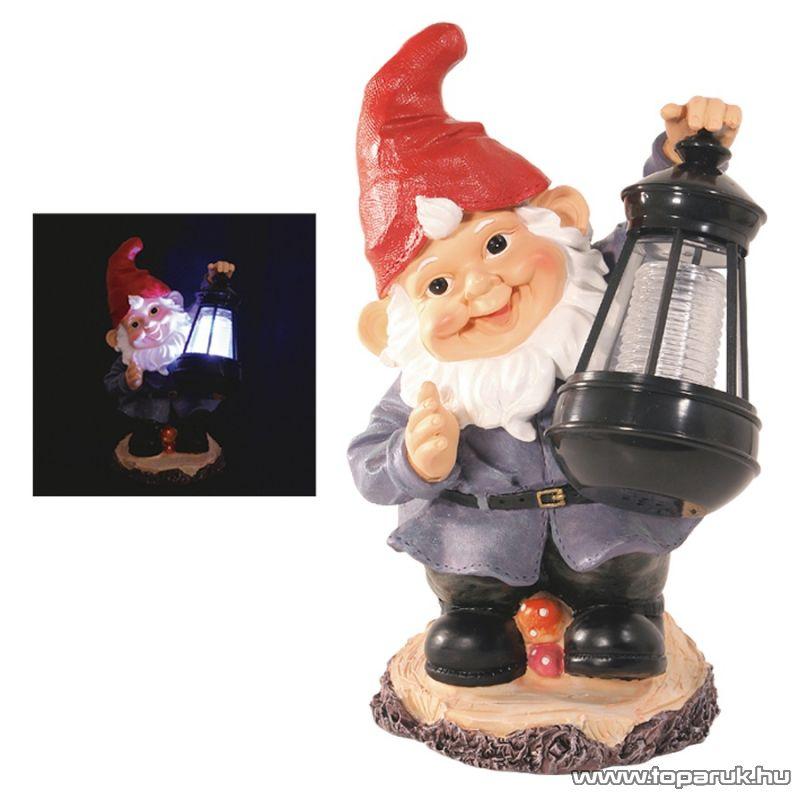 HOME MX 632D Napelemes lámpa törpével - készlethiány