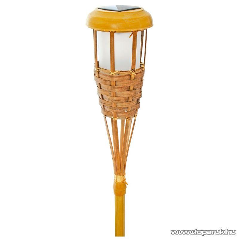 HOME MX 914 Solar lámpa, bambuszos - készlethiány