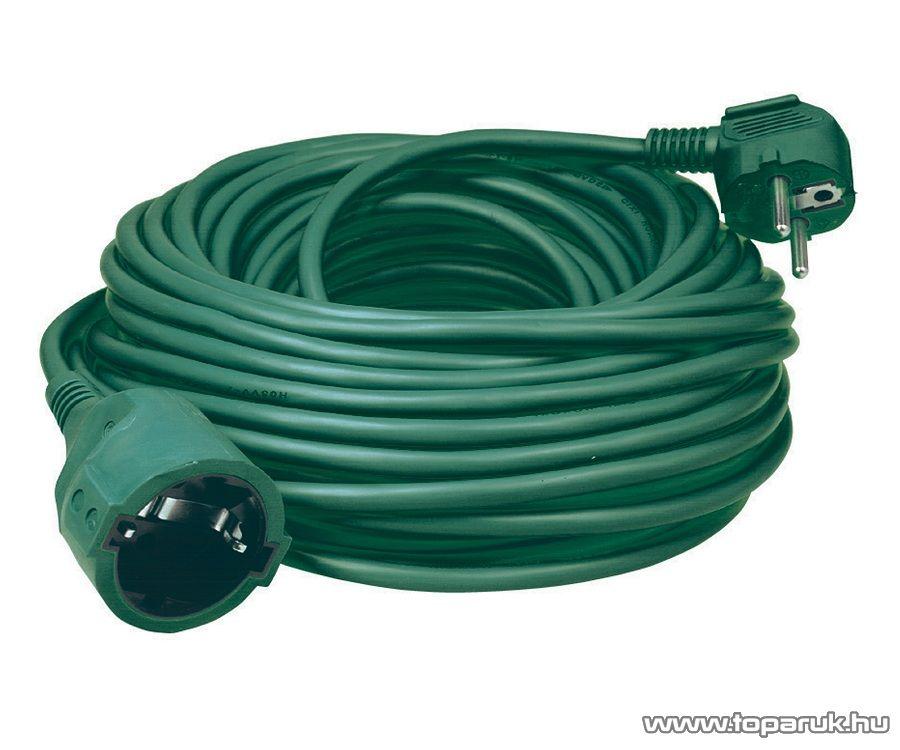 HOME NV 2-10/GR Hálózati hosszabbító, 10 m, zöld