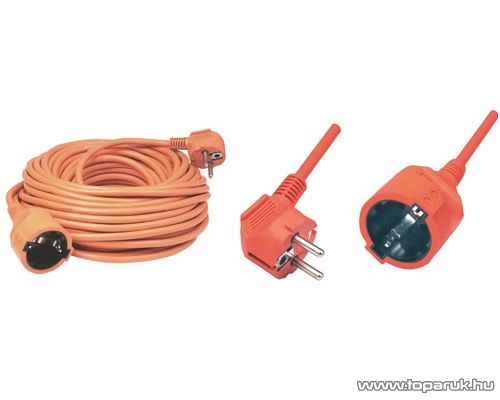 HOME NV 2-10/OR Hálózati hosszabbító, 10 m, narancs