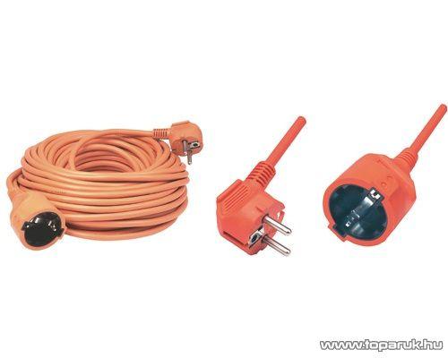 HOME NV 2-30/OR Hálózati hosszabbító, 30 m, narancs