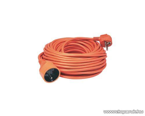HOME NV 3-20/OR/1,5 Francia csatlakozós hálózati hosszabbító, 20 m, narancs