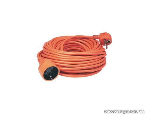 HOME NV 3-20/OR Francia csatlakozós hálózati hosszabbító, 20 m, narancs