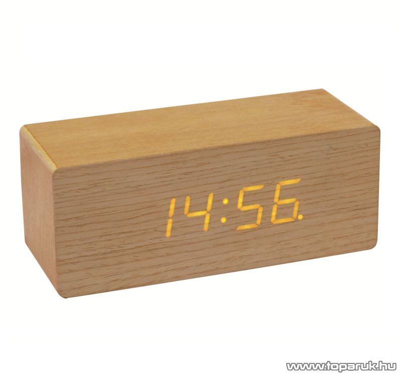 HOME OC 01 Fa digitális ébresztőóra