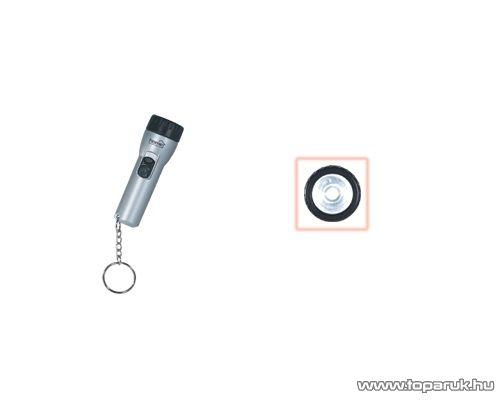 HOME PLL 210 LED-es elemlámpa kulcstartóra, 1 LED-es
