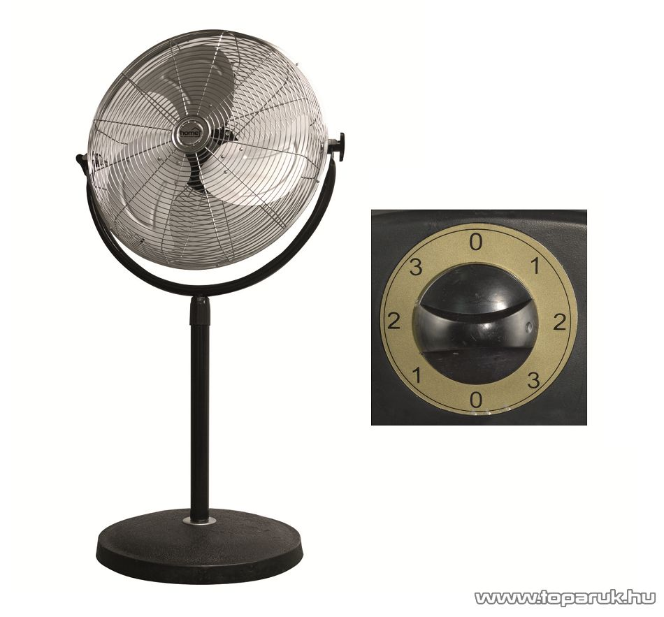 HOME SFI 45 Állványos fém álló ventilátor, 45 cm
