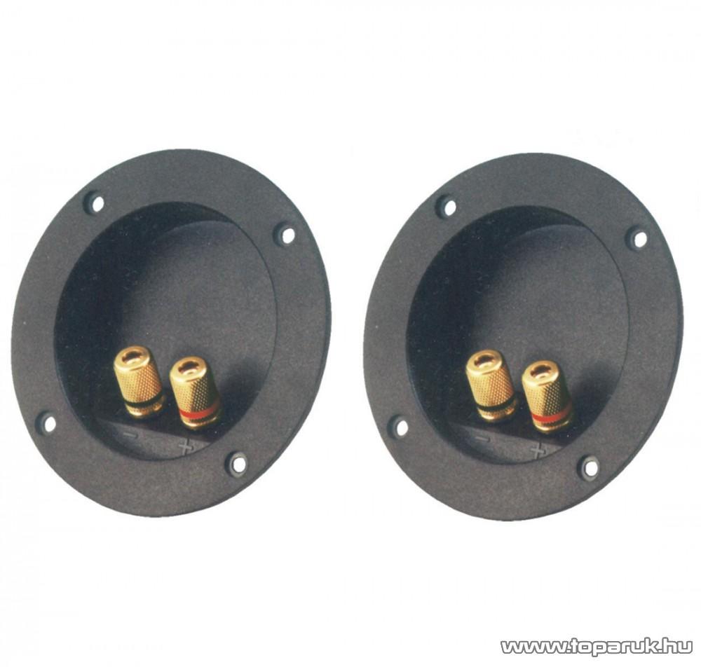HOME SL 6MG Hangfalaljzat 2 db aranyozott fém banáncsatlakozóval, 2 db / csomag