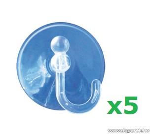 HOME TAP 10 tapadókorong, átlátszó, 5 db / csomag