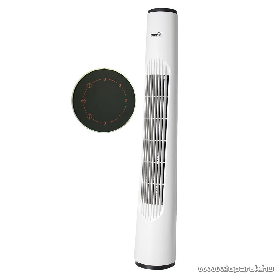 HOME TWF 80 Oszlopventilátor, fehér - megszűnt termék: 2015. július