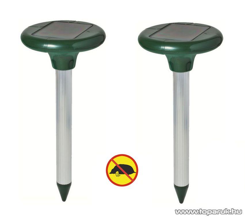 HOME VKS 01 DUO Napelemes Szolár vakondriasztó karó (hatótávolság: 2x 650 m2), 2 db / csomag