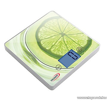 Hauser DKS-1062 Digitális konyhai mérleg LCD kijelzővel - készlethiány