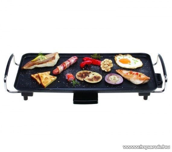 Hauser GR-200 Asztali elektromos grillsütő, 2000 W - készlethiány