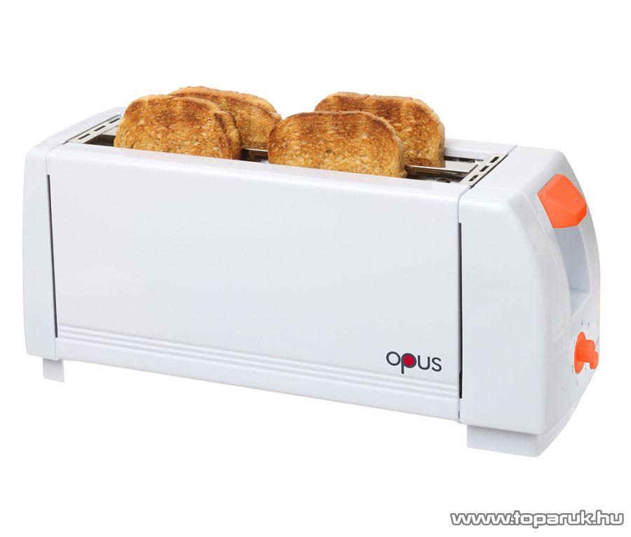 Hauser OPUS KP-2014 Négyszeletes kenyérpirító, 1300 W - készlethiány