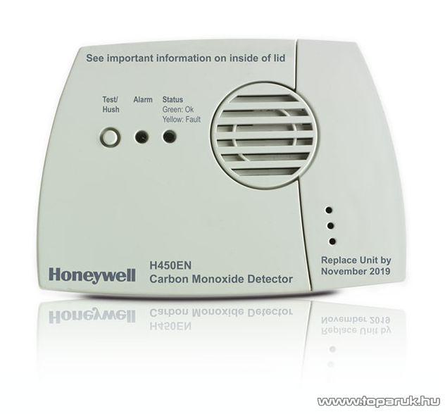 Honeywell H450EN Szén monoxid érzékelő, CO érzékelő, riasztó