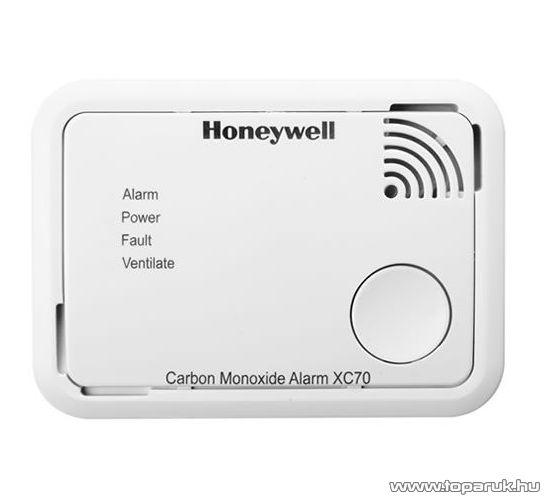 Honeywell XC70-HU Szén monoxid érzékelő, CO érzékelő, riasztó