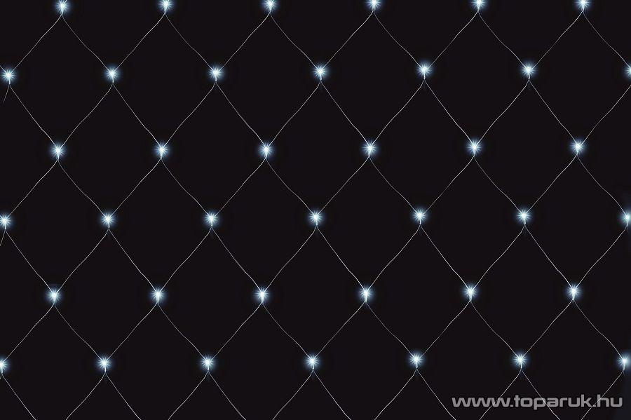 HOME KLN 240/WH Kültéri LED-es fényháló 240 db hideg fehér fénnyú leddel, 300 x 300 cm