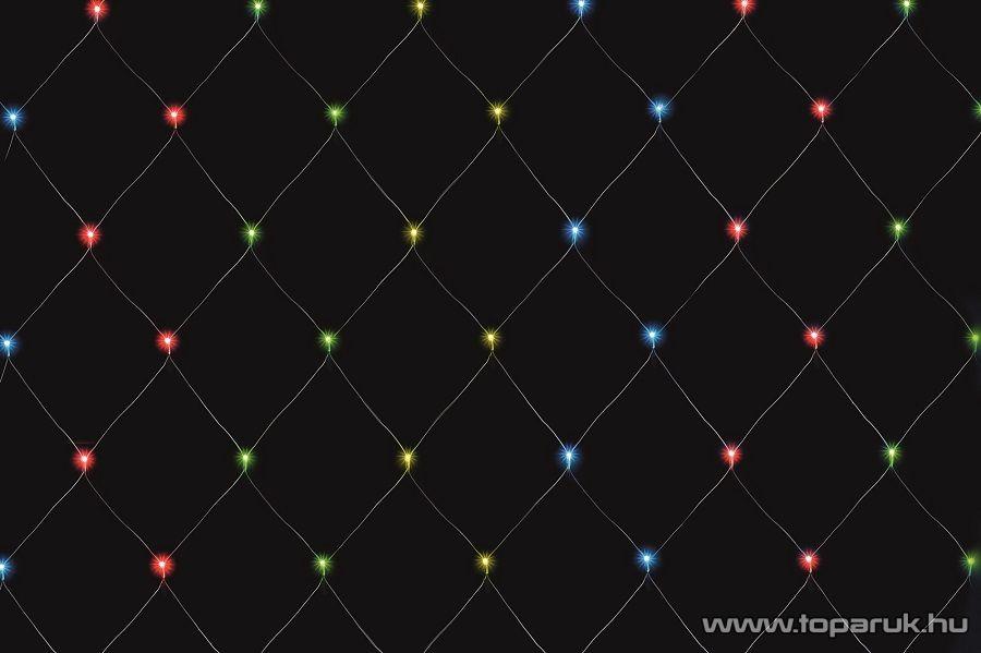 HOME KLN 400/M Kültéri LED-es fényháló 400 db színes leddel, 600 x 400 cm