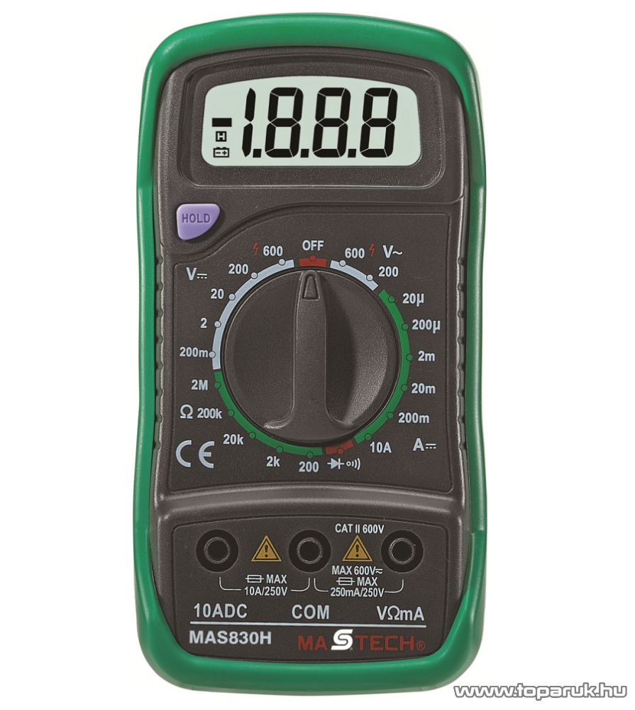 MASTECH MAS 830 Digitális multiméter