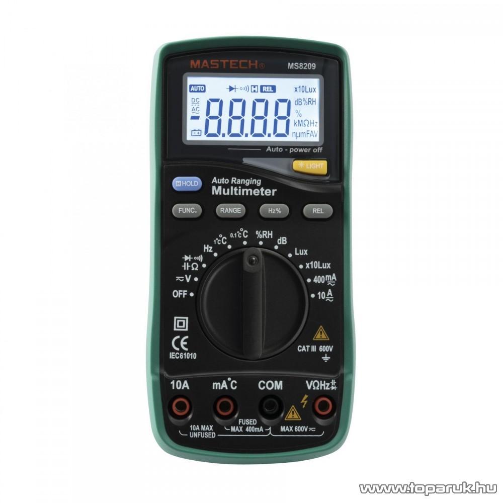 MASTECH MS 8209 Professzionális multiméter