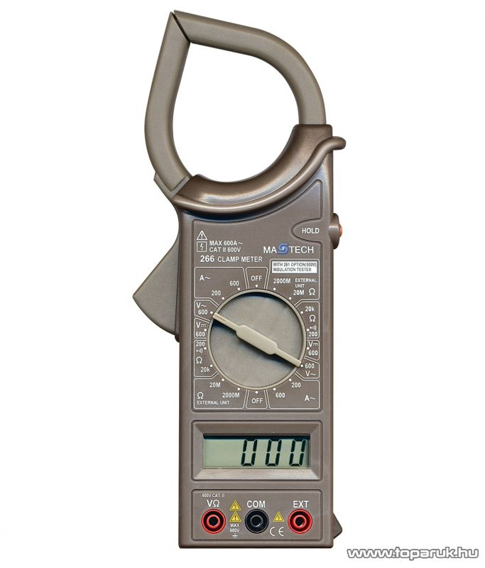 MASTECH M 266 Lakatfogós multiméter