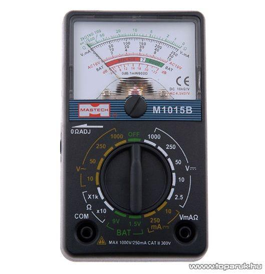 SMA M 1015B Analóg multiméter elemteszterrel