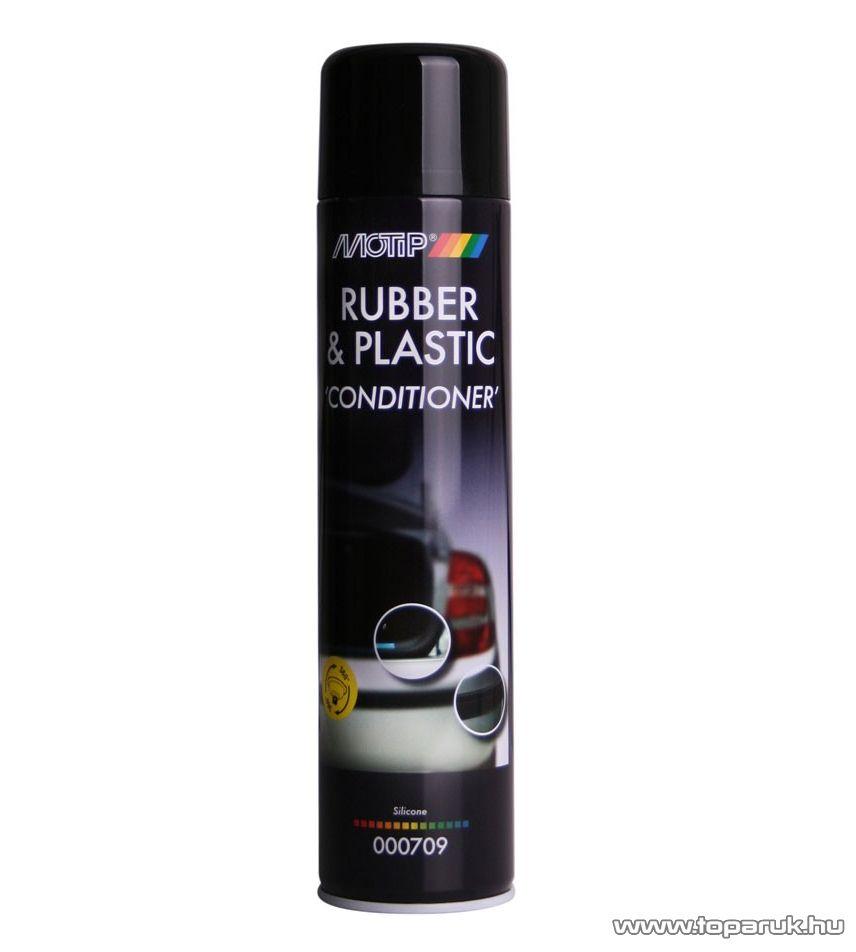 Motip MO 709 Műanyag és gumiápoló spray, 600 ml