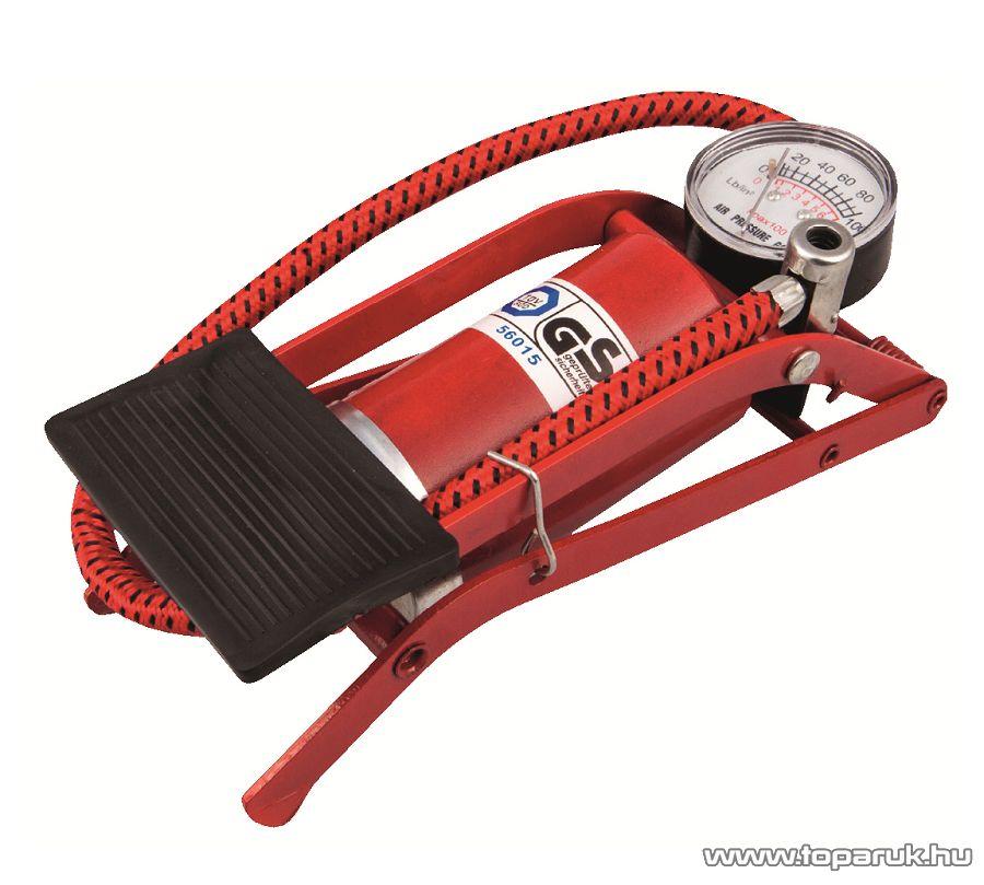 SAL 90717 Univerzális lábpumpa, fújtató, gumiabroncs, gumimatrac, gumicsónak és medence pumpa