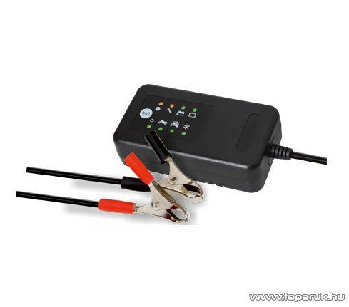 SAL SMC 33 Akkumulátor töltő (akkutöltő) autó és motor akkumulátorokhoz, 2-90 Ah / 12 V