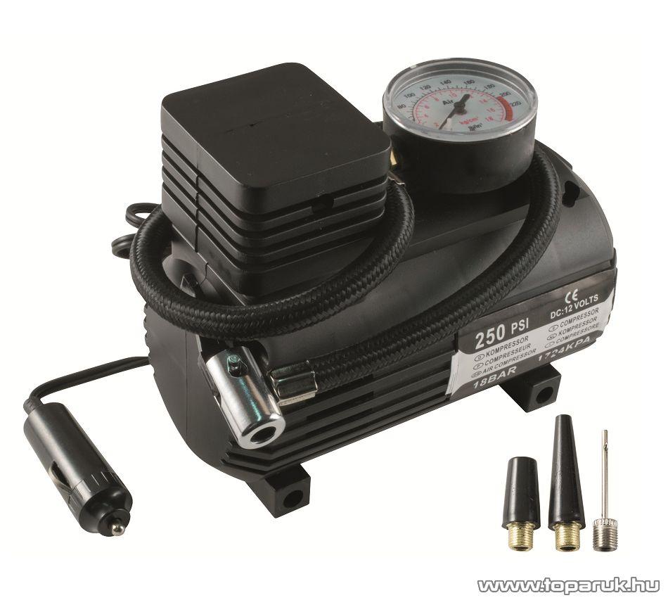 SAL 90304 Szivargyújtós autós kompresszor (fújtató), 12V-os