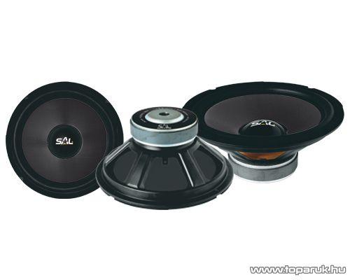 SAL AHX 2030/BK Beépíthető autós mélysugárzó, 200mm, 4Ohm, kevlar, 120W-os