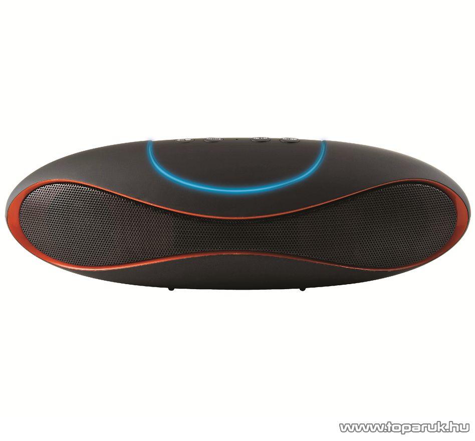 SAL BT 2400 Hordozható 6 in 1 multimédia sztereo hangszóró, Bluetooth kihangosítóval, FM rádióval